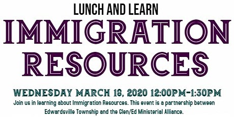 Lunch & Learn - Immigration Resources tickets
