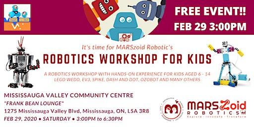 Robotics Workshop (FREE) by MARSzoid Robotics!