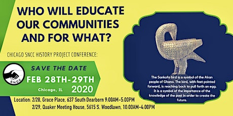 """""""Who Will Educate Our Communities and for What?"""" tickets"""