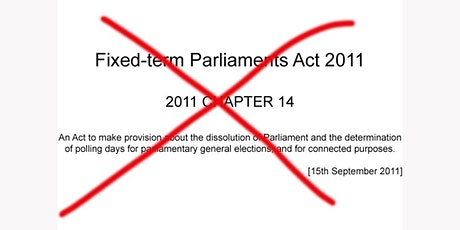 The Fixed Term Parliaments Act: Repeal or Reform? tickets