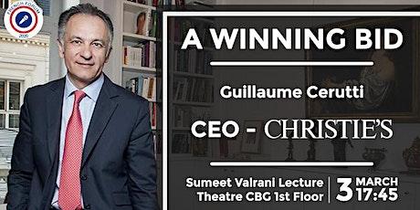 The Winning Bid - CEO Christie's tickets