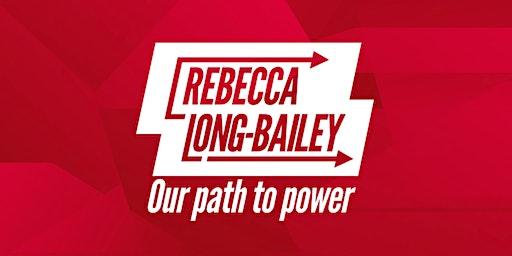 Rebecca Long-Bailey in Birmingham
