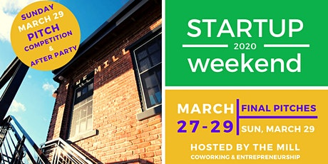 Startup Weekend Bloomington March 27-29, 2020 tickets