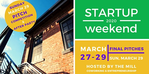 Startup Weekend Bloomington March 27-29, 2020