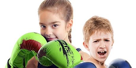 KIDS KICKBOXING CLASSES - 5 CLASSES tickets