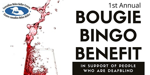 Bougie Bingo Benefit in Support of People Who Are Deafblind