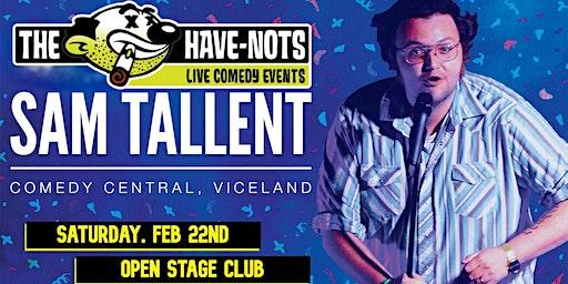 Sam Tallent LIVE - Saturday 2/22 at Open Stage Club
