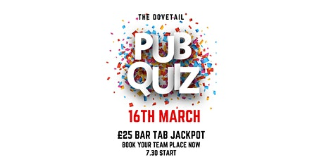 The Dovetail Pub Quiz tickets