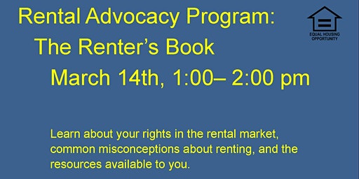 Rental Advocacy Program: The Renter's Book