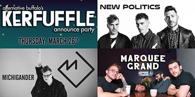 THE KERFUFFLE 20-20 ANNOUNCE PARTY