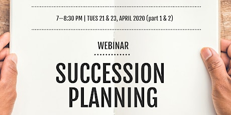 Succession Planning - Webinar tickets