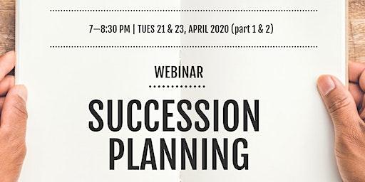 Succession Planning - Webinar