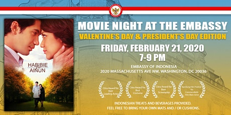 Movie Night at the Embassy:  Valentine & President's Day Edition tickets
