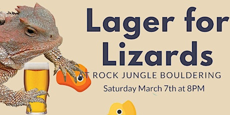 Lager for Lizards tickets