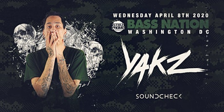 Bass Nation DC feat. Yakz tickets