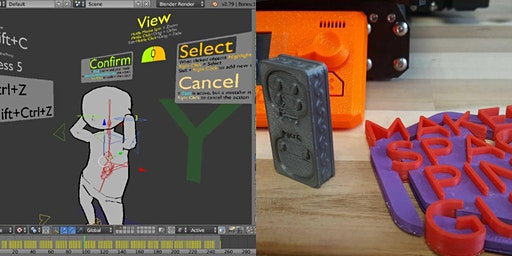 3D Modeling + Printing