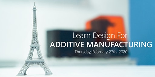 Learn Design for Additive Manufacturing - 3D Printing & Scanning Open House