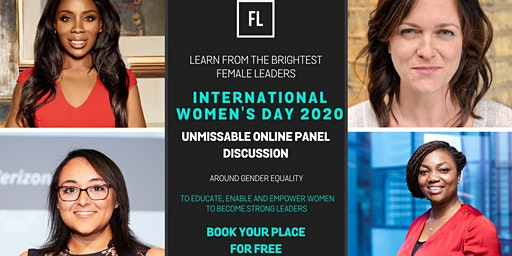 FREE Online Panel Discussion: Celebrating International Women's Day - Lessons From Female Leaders