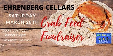CRAB FEED FUNDRAISER @ EHRENBERG CELLARS! tickets