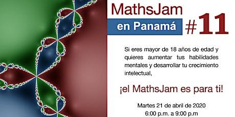 MathsJam #11 en Panamá boletos