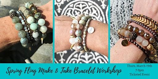 Spring Fling Bracelet Make & Take