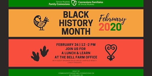 SMFC Black History Month Lunch & Learn