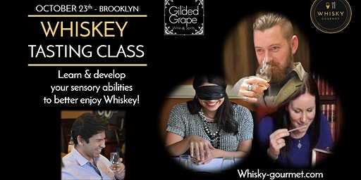 WHISKEY guided tasting in Brooklyn - Worldwide tour!