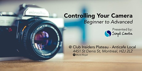 Photo Class - Controlling Your Camera tickets