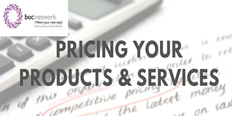 Pricing Your Products and Services tickets