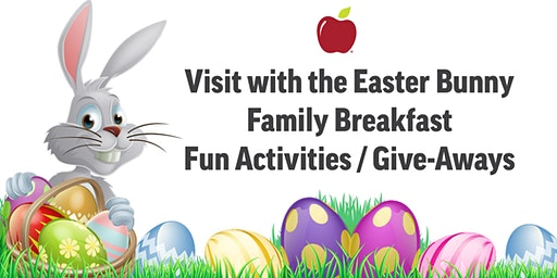 Breakfast with the Easter Bunny 2020 @ Applebee's Grill + Bar (Cortland Town Ctr)