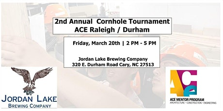 2nd Annual ACE RDU Cornhole Tournament - Spring Fundraiser tickets