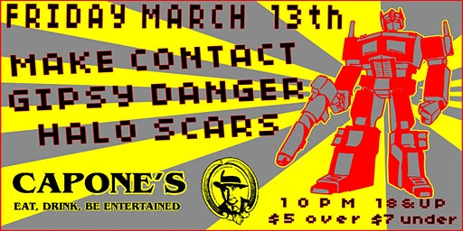 Make Contact with Gipsy Danger and Halo Scars