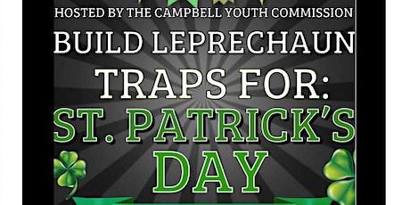 Leprechaun Trap Making tickets