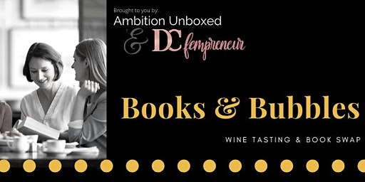 Books & Bubbles: Wine Tasting & Book Swap