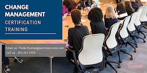 Change Management Certification Training in Winnipeg, MB
