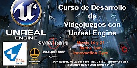 Curso Desarrollo Videojuegos con Unreal Engine boletos