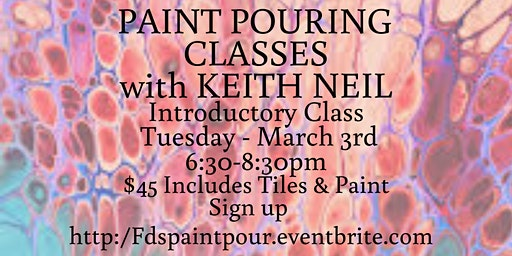 Paint Pouring with Neil