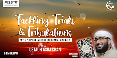 Tackling Trials & Tribulations - Birmingham tickets