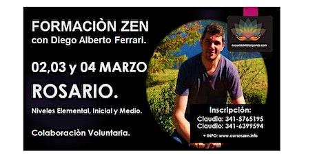Rosario, Formación Zen con Diego Alberto Ferrari: 02,03 y 04 Marzo. entradas