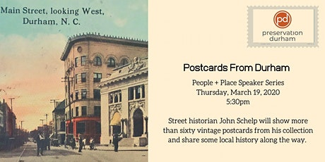 Postcards From Durham tickets