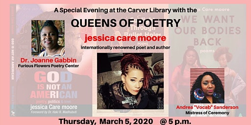 Carver Library Presents: Queens of Poetry