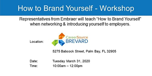 """How to Brand Yourself"" when networking & introducing yourself to employers"