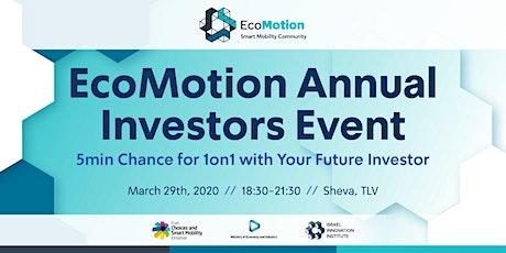 EcoMotion Investors Event 2020 tickets
