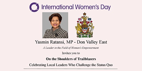 Celebrating International Women's Day: On the Shoulders of Trailblazers tickets
