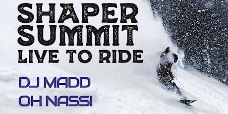 Shaper Summit tickets