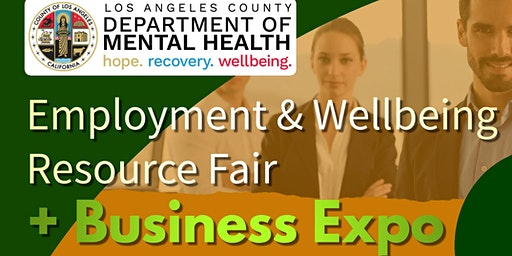 LACODMH SA 7 Employment & Wellbeing Resource + Business Expo