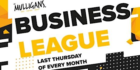 BUSINESS NETWORKING ADVENTURE GOLF LEAGUE - FREE - Mr Mulligans Basildon tickets