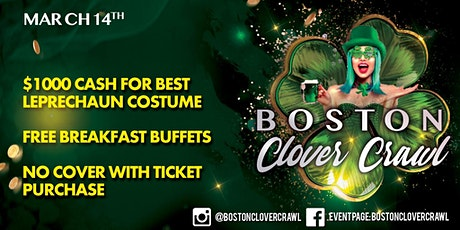 Boston Clover Crawl tickets