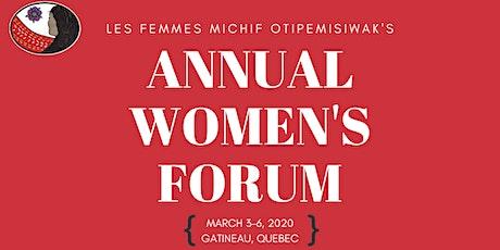 Les Femmes Michif Otipemisiwak's Women's Forum tickets