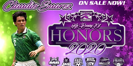 RRR Evening of Honors 2020 with Claudio Suarez. tickets